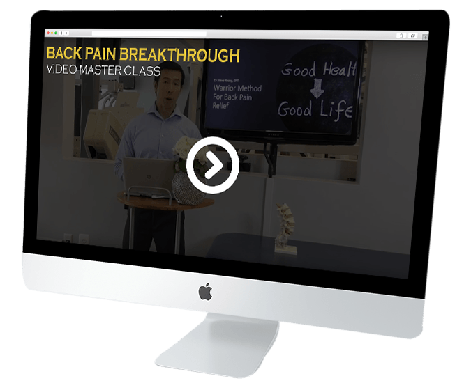 Back Pain Breakthrough video masterclass